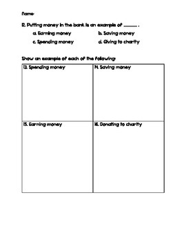 Financial Literacy Practice