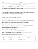 2nd Grade Financial Literacy Pre-Assessment