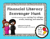 Financial Literacy Scavenger Hunt
