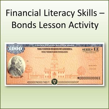 Financial Literacy Skills - Bonds Investment Basics Activity