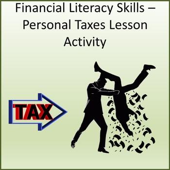 Financial Literacy Skills - Taxes Lesson Activity