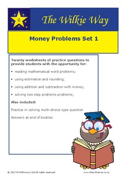 Financial Literacy: Solving Money Problems Set 1