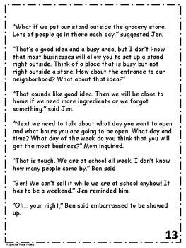 Financial Literacy Story