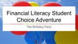 Financial Literacy Student Choice Adventure Google Slides