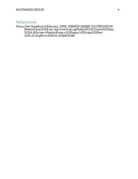 Financial Literacy - Summative Assessment (budget, rent, checks, credit)