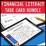 Financial Literacy Task Card Bundle