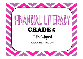 Financial Literacy Task Cards (GRADE 5)