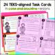 Financial Literacy Task Cards for STAAR Prep TEKS: 4.10B 4.10E