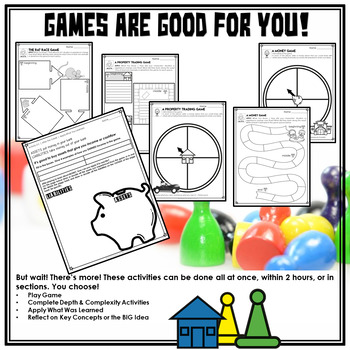 Financial Literacy   Teach with Monopoly™, Payday™, or Cashflow™