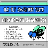 Financial Literacy Vocabulary Review Activity - Fly Swatter Game