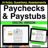 Financial Literacy Understanding a Paycheck for Google Dri