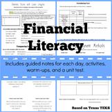Financial Literacy Unit for TEKS