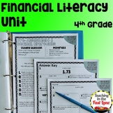 Financial Literacy Unit with Lesson Plans