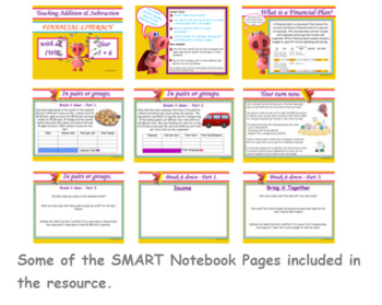 Financial Literacy - Using Addition and Subtraction