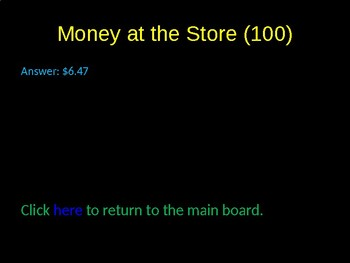 Financial Literacy and Applications Game Activity