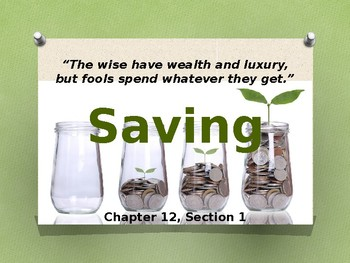 Financial Literacy and the Importance of Saving