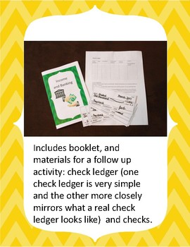 Financial Literacy for Elementary: Income, Banking and Bank Accounts