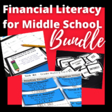 Financial Literacy for Middle School ALL PRODUCTS Bundle