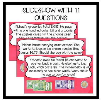 Financial Literacy with CANADIAN MONEY - Discussion Questions/Journal Prompts