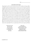 Financial Markets and the Economy Vocabulary Word Search for Economics