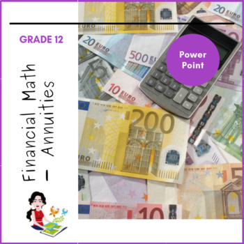 Financial Maths - Annuities