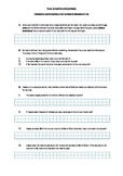 Financial Maths Worksheet - Income, Tax and Buying on Terms