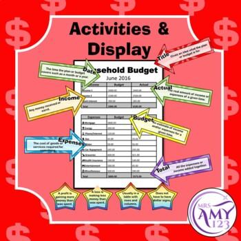 Financial Planning Activity Bundle