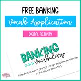 Banking Vocabulary Activity