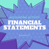Financial Statements Accounting Activity