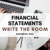 Financial Statements QR Code Scavenger Hunt