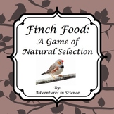 Finch Food:  A Game of Natural Selection