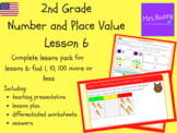 Find 1, 10, 100 more or less lesson pack (2nd Grade Number
