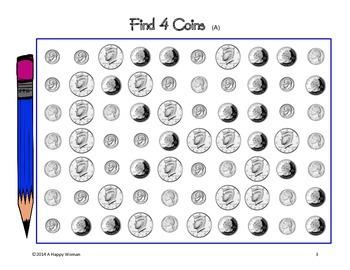 Find 4 Coins