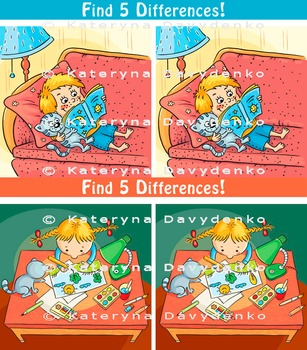 Find 5 Differences!