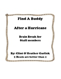 Find A Buddy : After a Hurricane