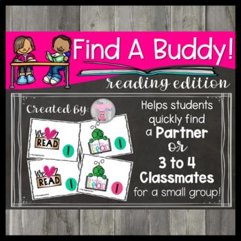 Find A Buddy! Reading Edition