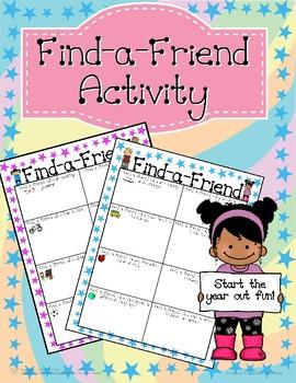 Find-A-Friend Activity