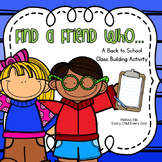 Find A Friend: Back to School Classbuilding Activity