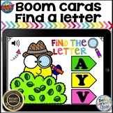Find A Letter with Boom Cards- Smiley