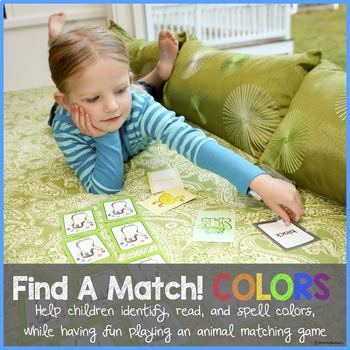 Find A Match (COLORS) - Help students learn color names while playing.