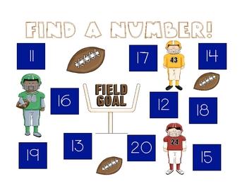 Find A Number 11-20