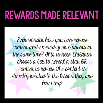 Find-A-Star: A Reward System for Level 5 (VIPKID Units 7-12) ESL, Online Class