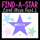 Find-A-Star: A Reward System for VIPKID Level Three (Units 7-12)