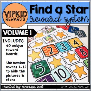 Find-A-Star Reward System (VIPKID)