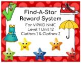 VIPKID Level 1 Unit 12 Find-A-Star Reward