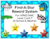 VIPKID Level 1 Unit 7 Find-A-Star Reward