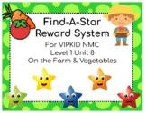 VIPKID Level 1 Unit 8 Find-A-Star Reward