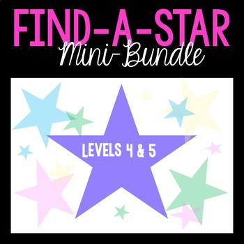 Find-A-Star Reward Systems- MINI BUNDLE- Levels 4 & 5 (VIPKID)
