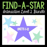 Find-A-Star: VIPKID *INTERACTIVE* Level 2 BUNDLE, Units 1-12- ELL, Online Teach