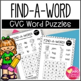 CVC Find a Word Puzzles